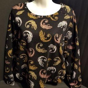 H&M Chameleon long sleeve shirt